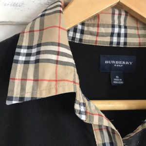 Burberry Polo Tee Size Small
